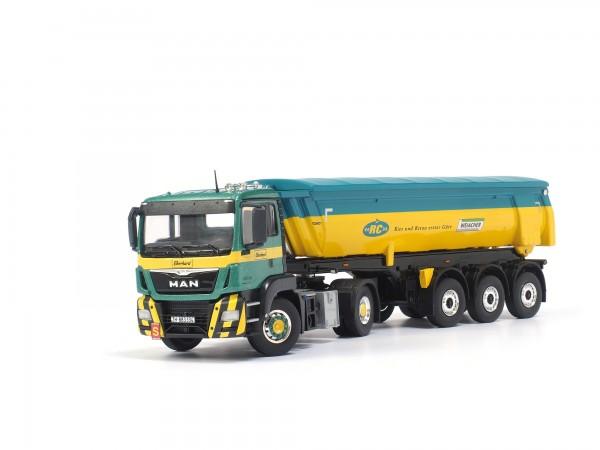 Eberhard Lastwagen MAN 2-Achs-Zugmaschine mit Kippsattelauflieger