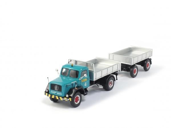 Eberhard Oldtimer-Lastwagen Magirus Deutz mit Kippanhänger Kögel