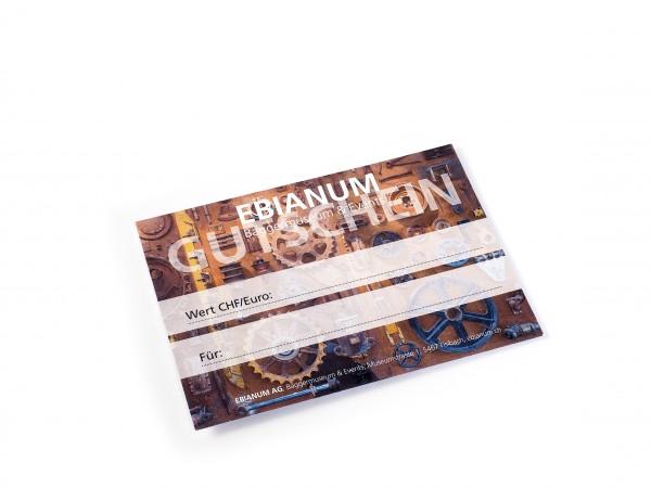 Geschenkgutschein EBIANUM CHF 15